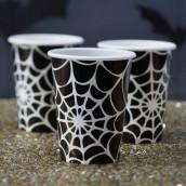Les gobelets toile d'araignée