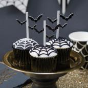 Les pics à cupcake chauve souris