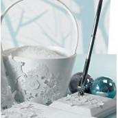 Le porte-stylo parure d'hiver