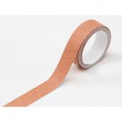 Le ruban adhésif glitter orange (glitter tape)