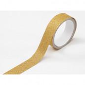 Le ruban adhésif glitter jaune (glitter tape)