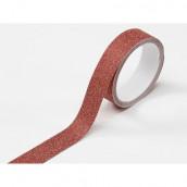 Le ruban adhésif glitter bordeaux (glitter tape)