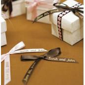 Le ruban personnalisé pour noeud