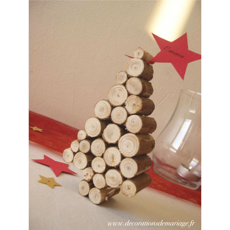 Mariage montagne menu luge - Deco avec rondin de bois ...