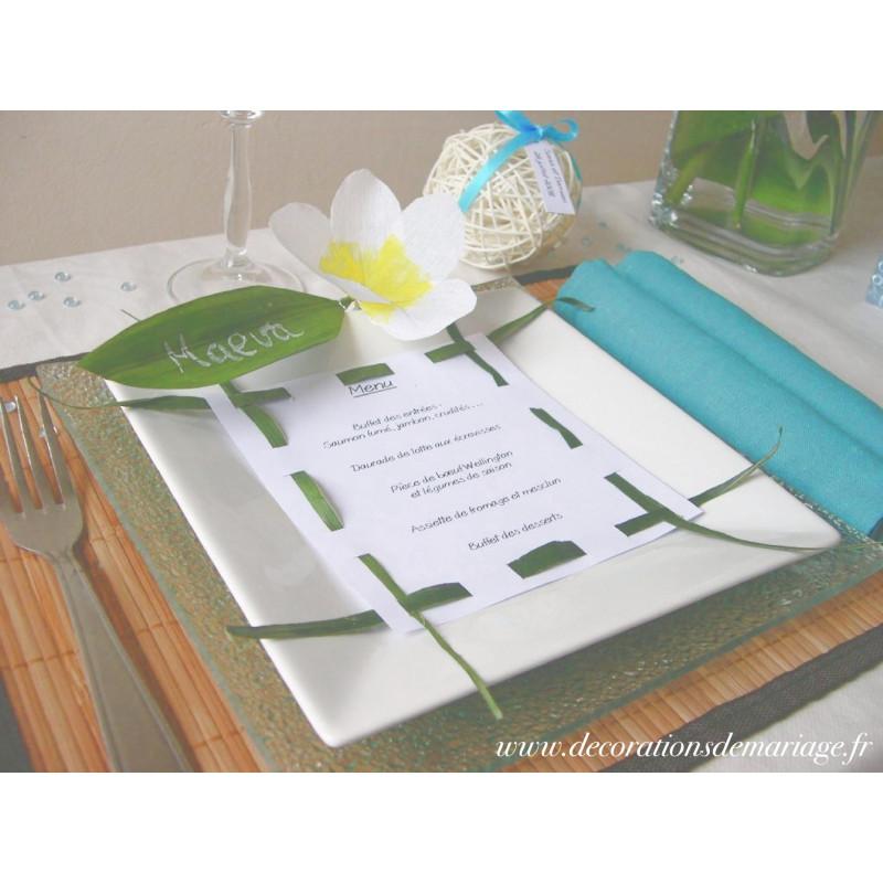 mariage exotique menu. Black Bedroom Furniture Sets. Home Design Ideas