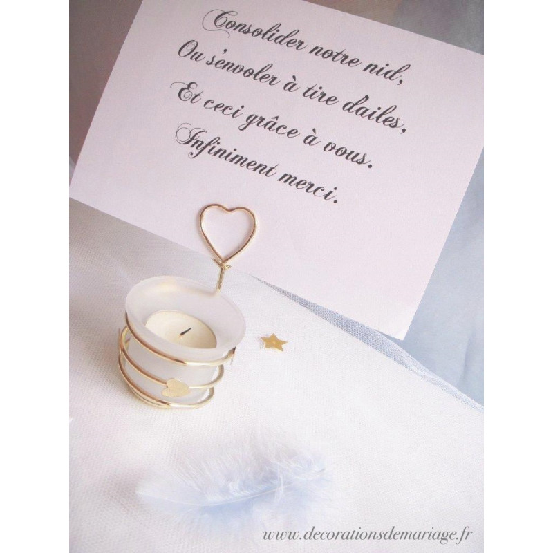 Urne mariage cage tulle anges for Decoration urne de mariage