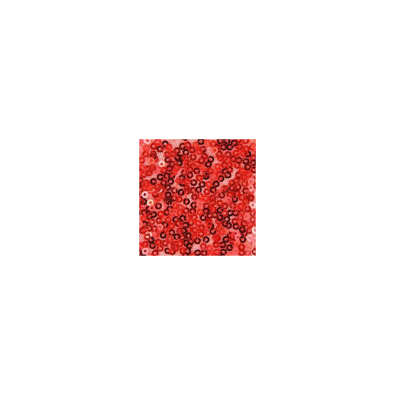 Chemin de table sequins rouge deco table for Chemin de table rouge