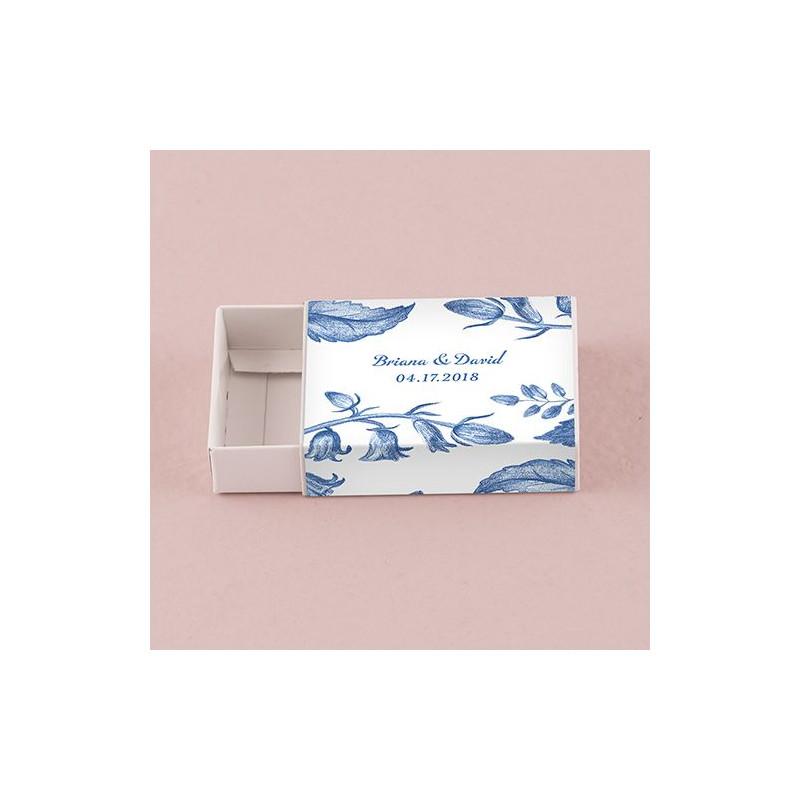 les 8 emballages romance pour boite dallumettes personnalise - Boite D Allumette Personnalis Mariage