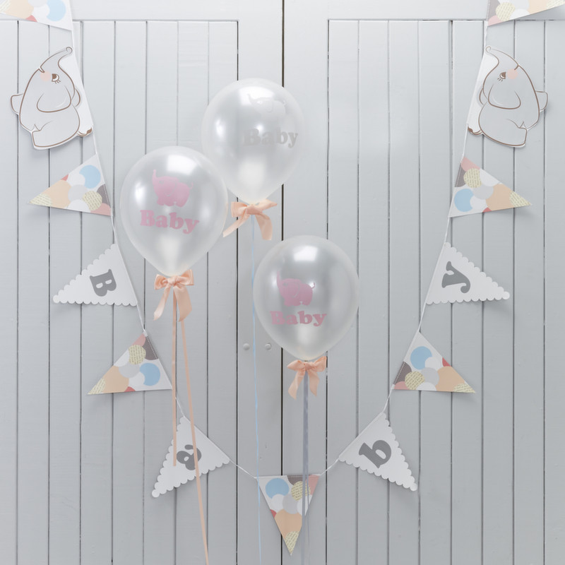 Guirlande de fanions baby shower - Guirlande baby shower ...