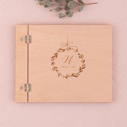livre d'or personnalisé mariage champêtre