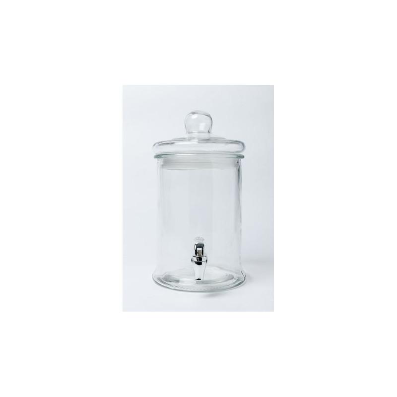 bonbonne avec robinet en verre. Black Bedroom Furniture Sets. Home Design Ideas
