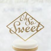 Le pic à gâteau Oh so sweet (8 coloris)