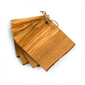 Les dessous verre en bois personnalisés x4