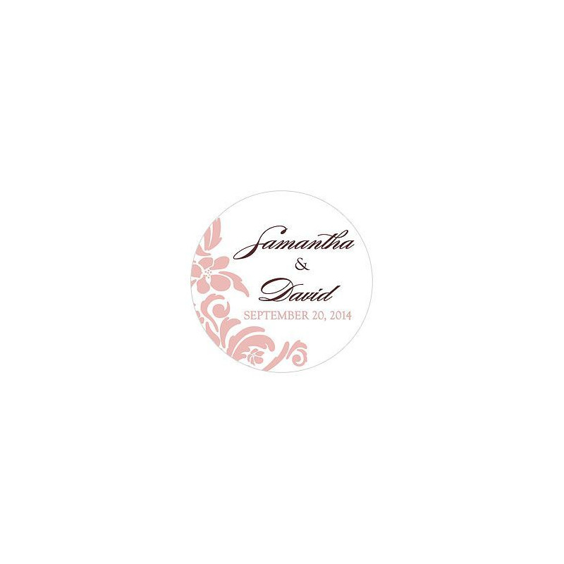 stickers personnalises mariage baroque stickers personnalises mariage damas. Black Bedroom Furniture Sets. Home Design Ideas