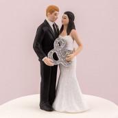 La figurine mariage tenant &
