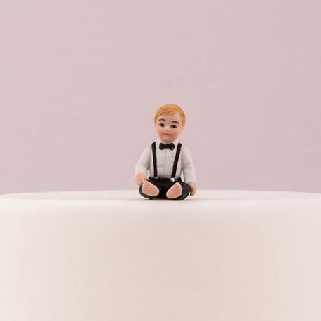 figurine bapteme garcon