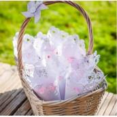 Les 10 cornets à confettis dentelle papier