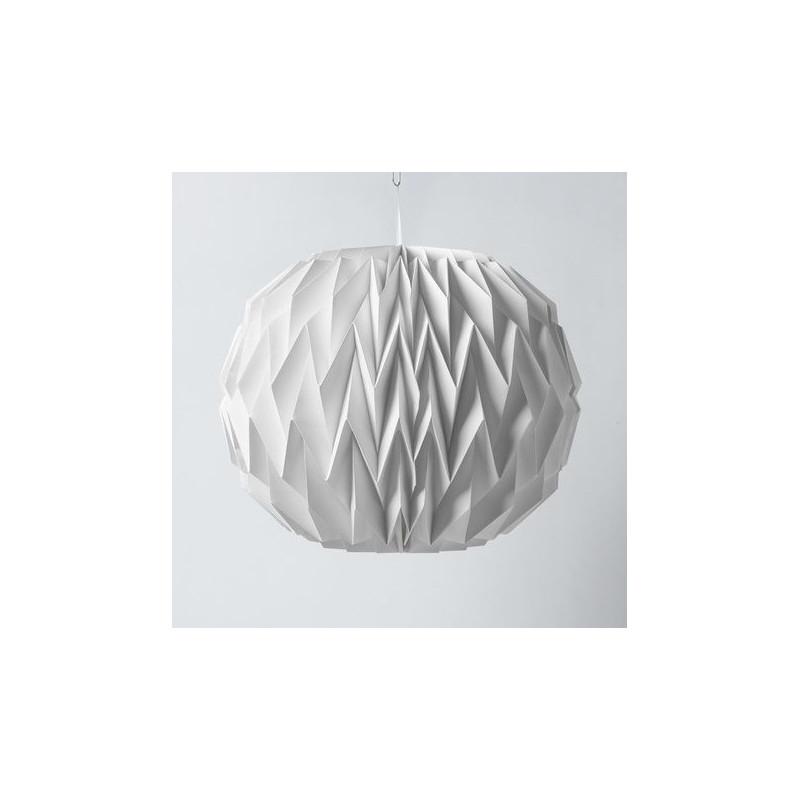 Boule papier origami for Boule de papier deco