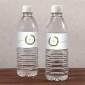 Les 10 étiquettes à bouteille couronne de feuilles