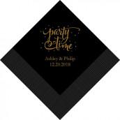 Les 100 serviettes personnalisées coeur arabesque