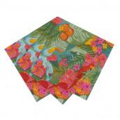 Les 20 serviettes thème tropical