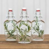 La flasque personnalisée couronne champêtre