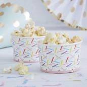 Les 8 pots à glace confettis
