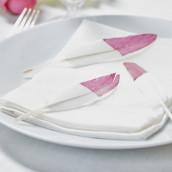 Les plumes teintées rose (x20)