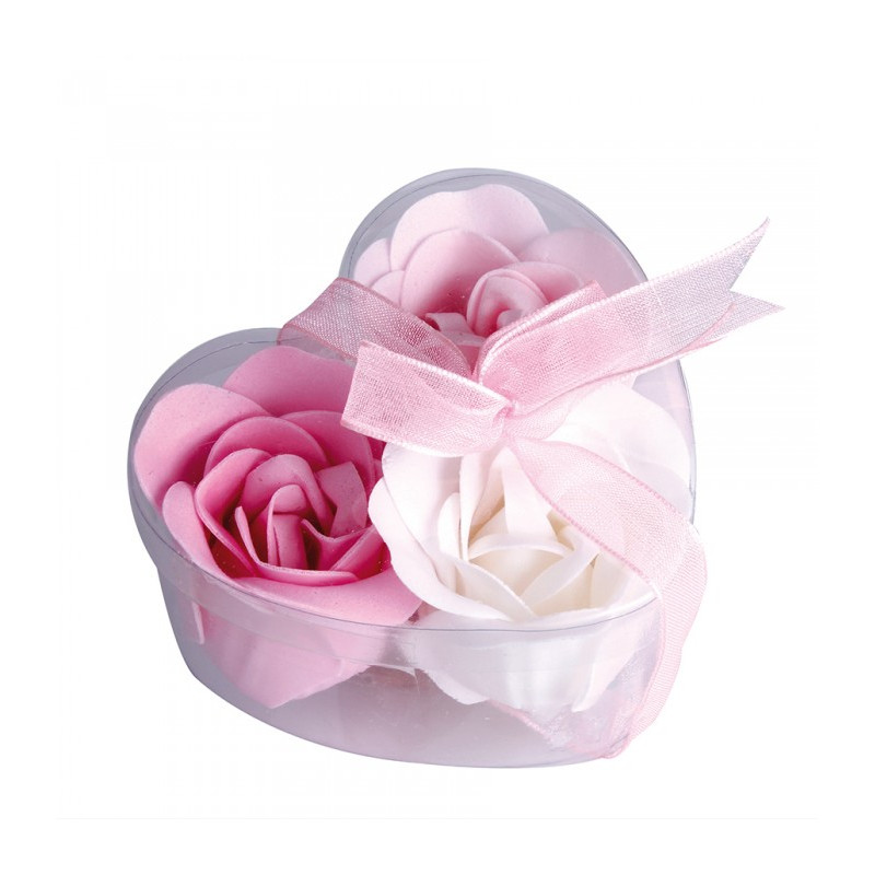 cadeau invit mariage rose en savon. Black Bedroom Furniture Sets. Home Design Ideas