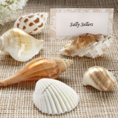 Les 6 marque-places coquillage