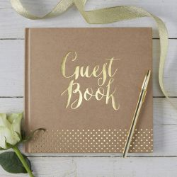 Le livre d'or guestbook rose