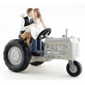 La figurine mariage agriculteur