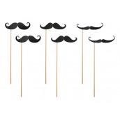 Les 8 accessoires moustaches pour photobooth