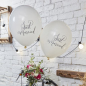 Les 10 ballons Just married