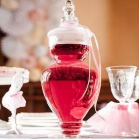 La bonbonnière en verre élégante