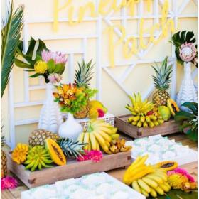 Thème mariage tropical