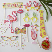 Le kit photobooth tropical