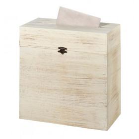 L'urne de mariage coffre bois rustique