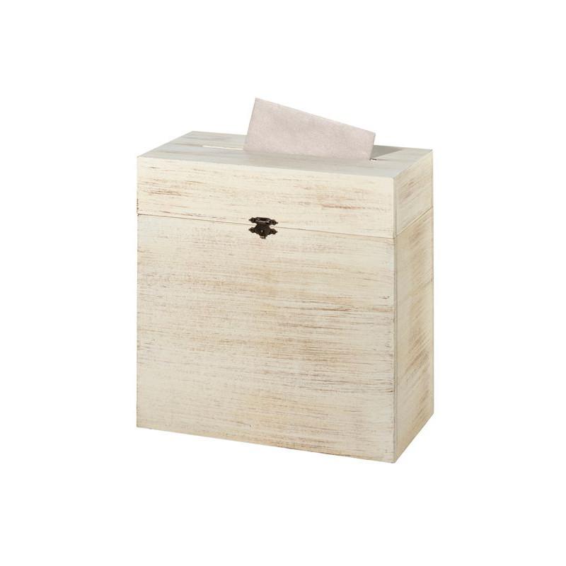 urne mariage coffre bois rustique. Black Bedroom Furniture Sets. Home Design Ideas