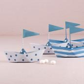 Les 6 bateaux en métal