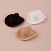 Le contenant à dragées chapeau