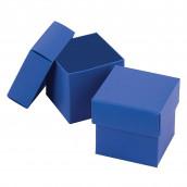 La boite à dragées cube bleu royal (par 25)