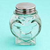 Le mini pot à dragées coeur