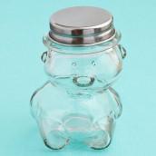 Le pot à dragées ourson en verre