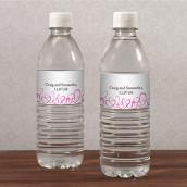 Les 10 étiquettes à bouteille romantique -15 coloris