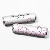 Les 24 emballages pour rouleau personnalisés romantiques