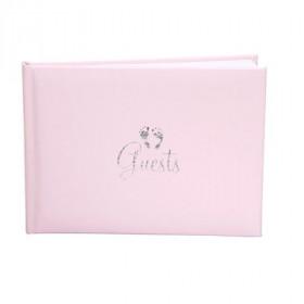 Le livre d'or pied bébé rose
