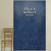 La toile pour photobooth constellation d'étoiles