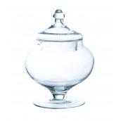 La bonbonnière ronde en verre