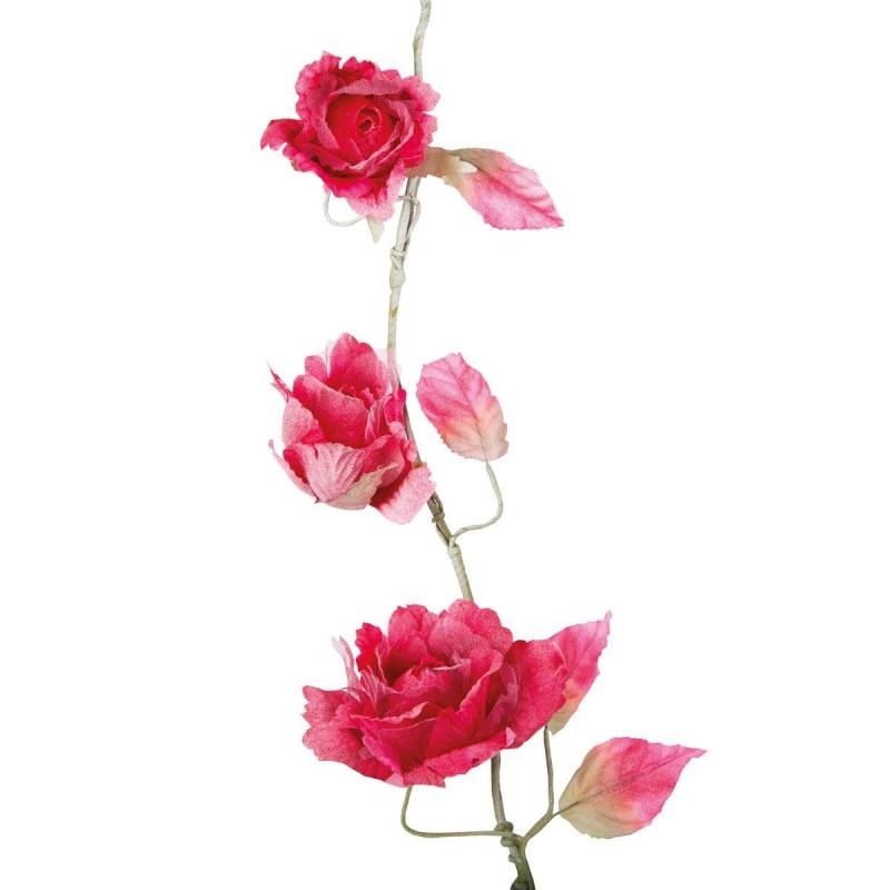 Guirlande de roses artificielles for Roses artificielles